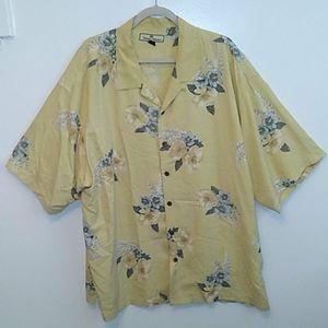 Tommy Bahama silk Hawaiian shirt - EUC